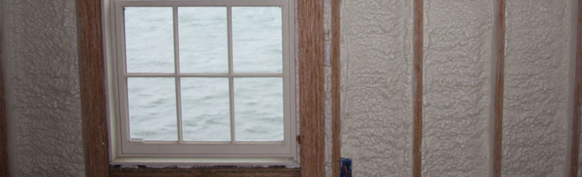 foam insulation strengthens walls of Ohio homes